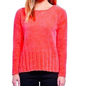 Seven7 neon pink chenille sweater